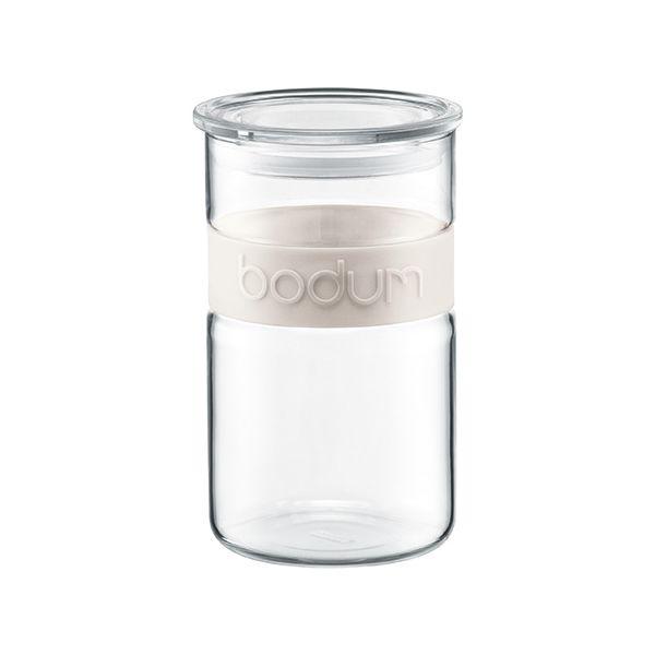 Bodum Presso 1.0L / 34oz Storage Jar Off White