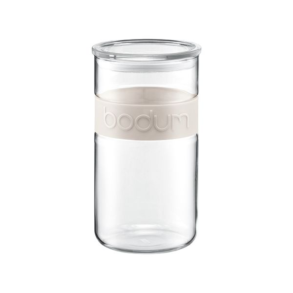 Bodum Presso 2.0L / 68oz Storage Jar Off White