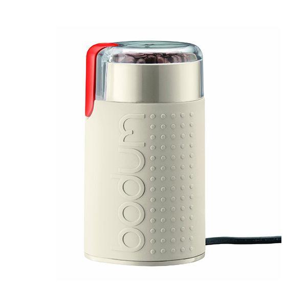 Bodum Bistro Electric Coffee Grinder Off White