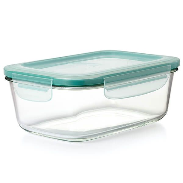 OXO Good Grips Snap Glass 1.8L Rectangle Storage Container