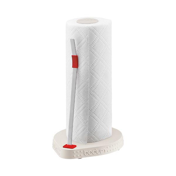 Bodum Bistro Paper Roll Holder Off White