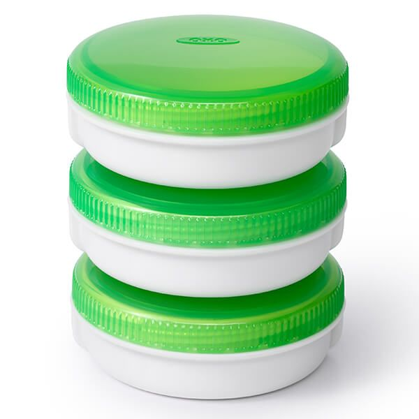 OXO Good Grips On-The-Go Condiment Containers Set Of 3