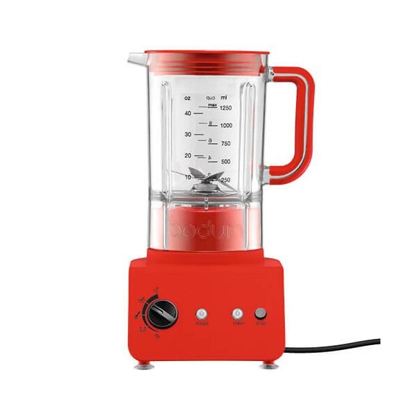 Bodum Bistro Blender Red 1.25L