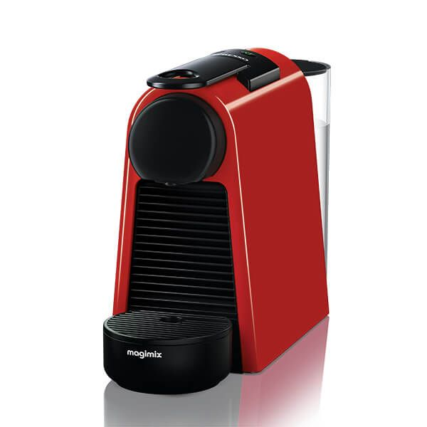 Magimix Nespresso Essenza Mini Ruby Red Coffee Machine
