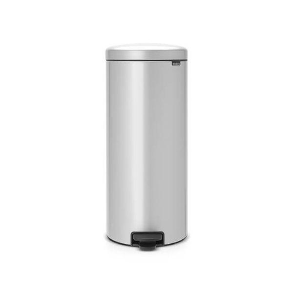 Brabantia NewIcon 30 Litre Pedal Bin Metallic Grey
