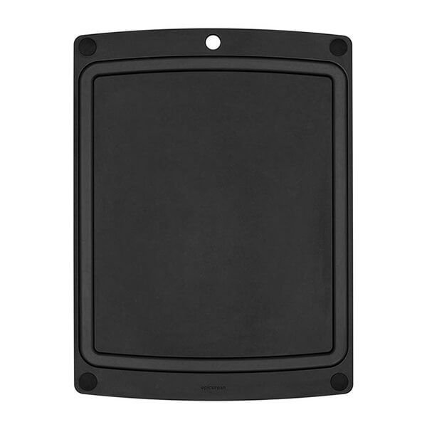 Epicurean All In One Slate/Black Cutting Board With Feet 24.5 X 17.7cm