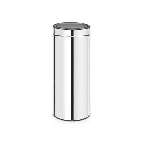 Brabantia Touch Bin 30 Litre Brilliant Steel