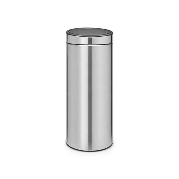 Brabantia Touch Bin 30 Litre Matt Steel
