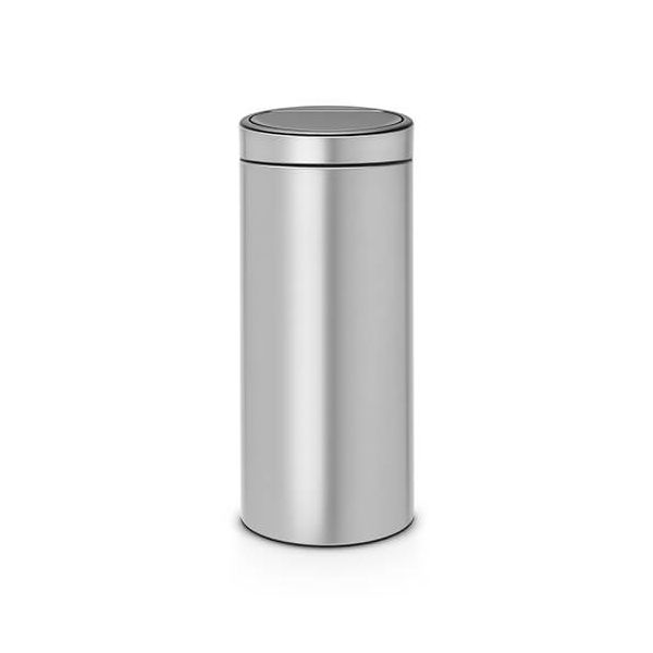 Brabantia Touch Bin 30 Litre Metallic Grey