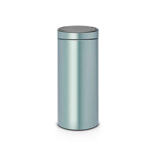 Brabantia Touch Bin 30 Litre Metallic Mint