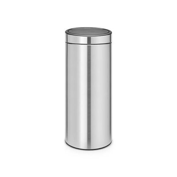 Brabantia Touch Bin 30 Litre Matt Steel Fingerprint Proof