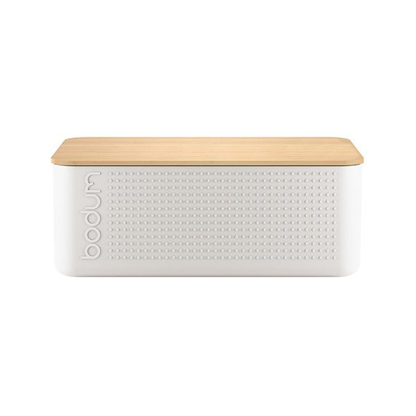 Bodum Bistro Bread Box Off White