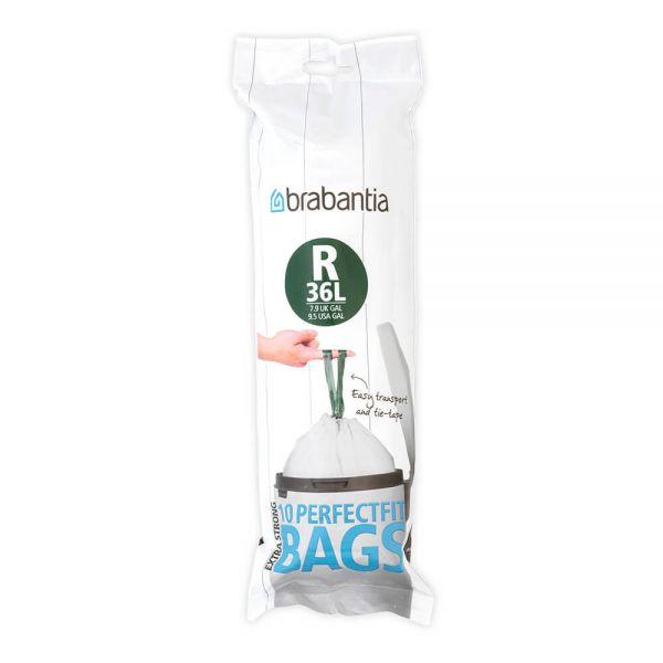 Brabantia Perfectfit Bags Size R 36 Litre 10 Bag Roll