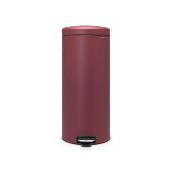 Brabantia NewIcon 30 Litre Pedal Bin Mineral Windsor Red