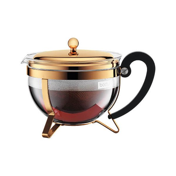 Bodum Chambord Gold Tea Pot 1.5L / 51oz