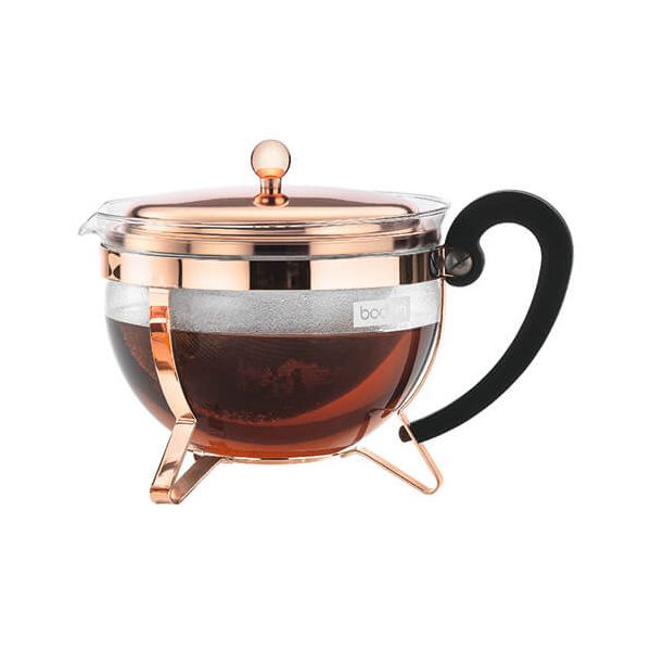 Bodum Chambord Copper Tea Pot 1.5L / 51oz