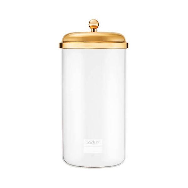 Bodum 2.0L Classic Storage Jar Gold