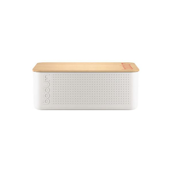 Bodum Bistro Small Bread Box White