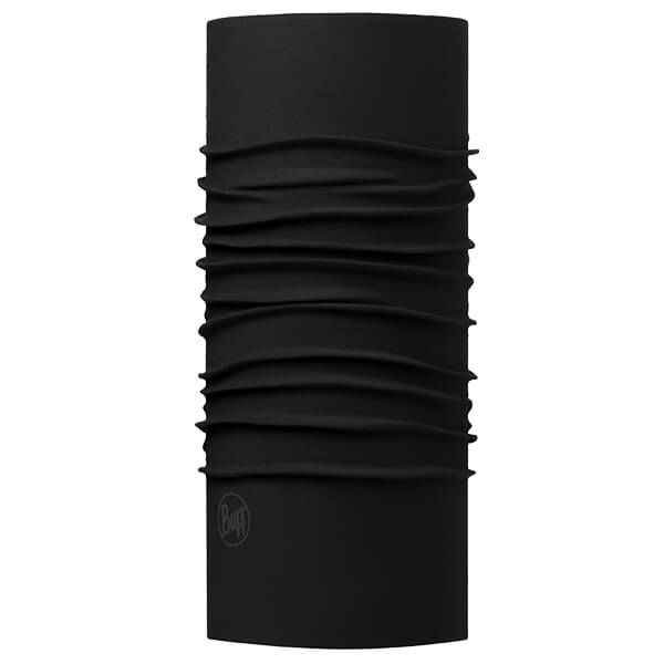 Buff Original Solid Black Tubular Neckwear