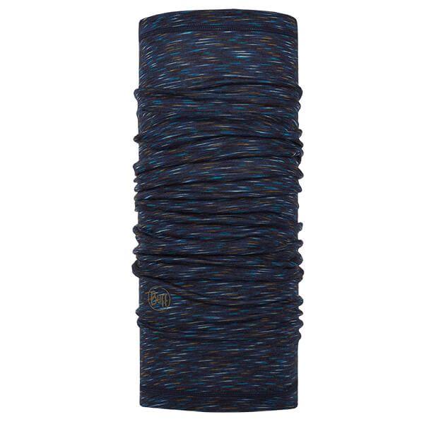 Buff Lightweight Merino Wool Denim Multi Stripes Neckwear