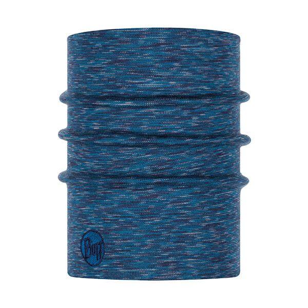 Buff Heavyweight Merino Wool Lake Blue Multi Stripes Neckwear