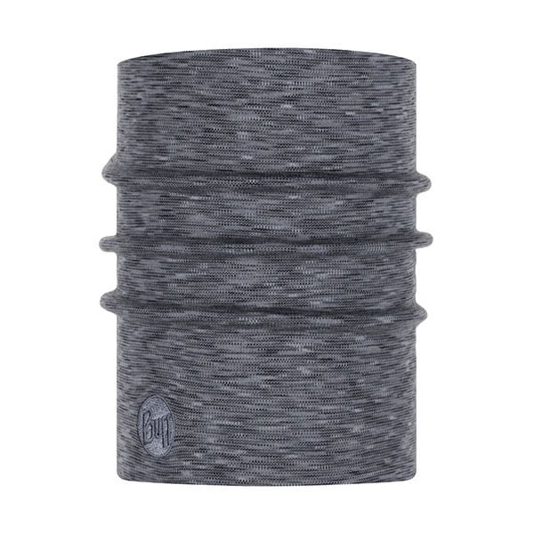 Buff Heavyweight Merino Wool Fog Grey Multi Stripes Neckwear
