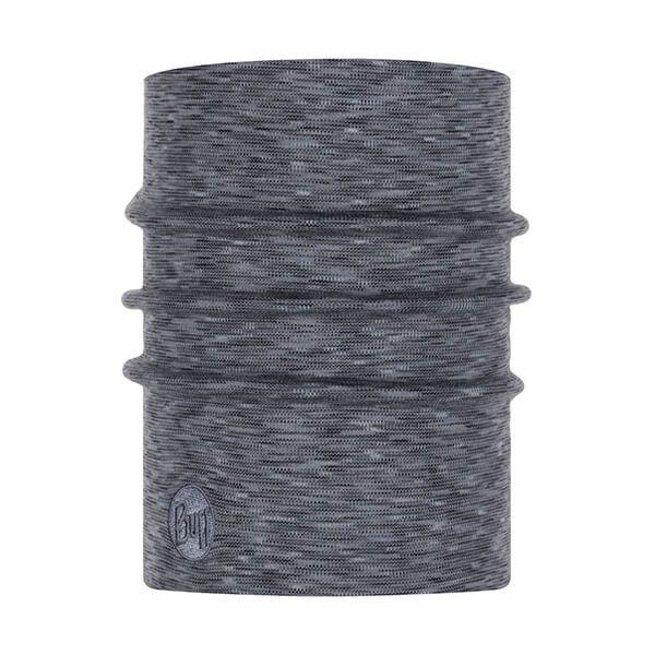 Buff Heavyweight Merino Wool Fog Grey Multi Stripes Neckwear