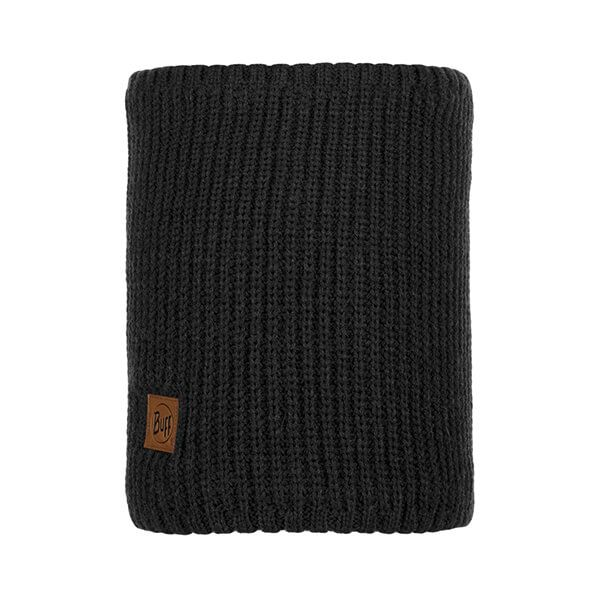 Buff Rutger Graphite Knitted & Fleece Neckwarmer