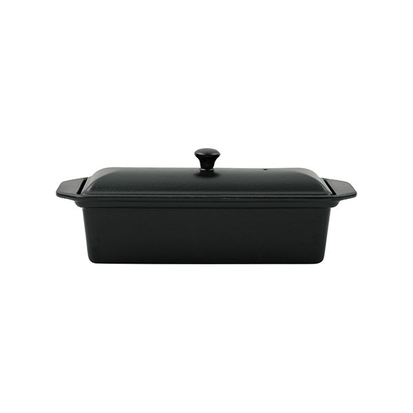 Chasseur Cast Iron Matt Black 28cm Pate Terrine