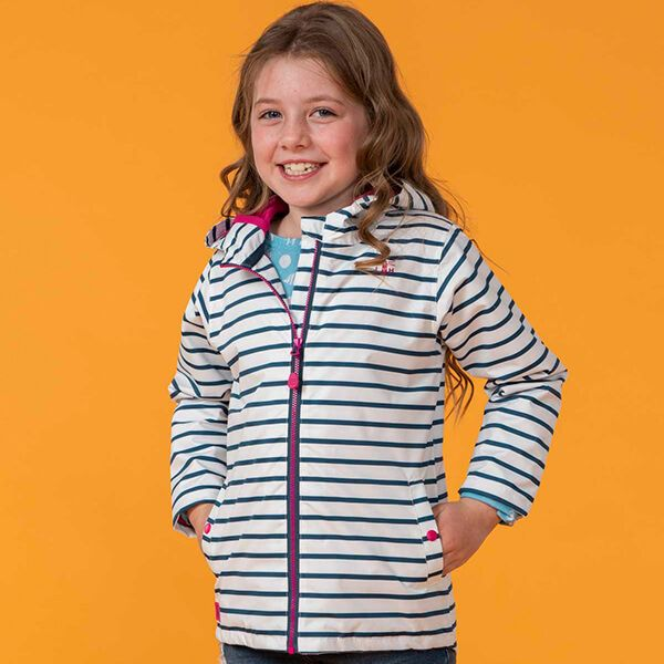 Lighthouse Blue Stripe Olivia Jacket