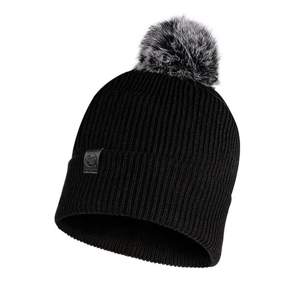 Buff Kesha Rosewood Black Knitted Hat