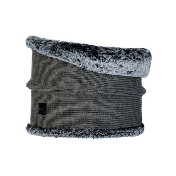 Buff Kesha Rosewood Grey Knitted Neckwarmer