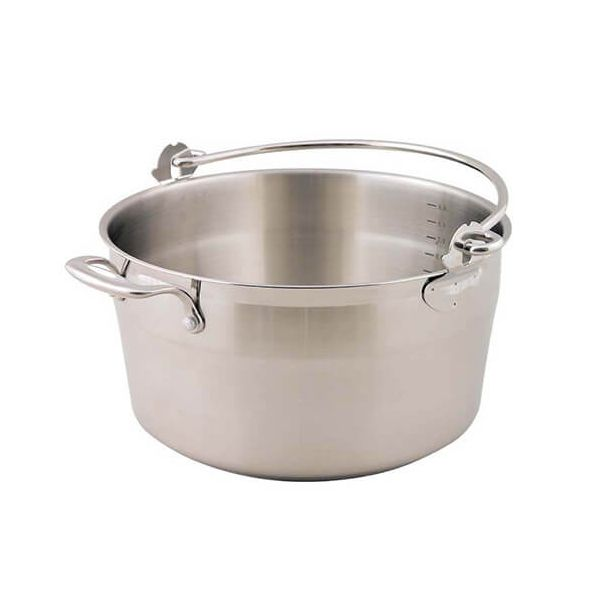 Dexam Supreme 30cm, 9.0L Jam / Preserving Pan With Bucket-Style Handle
