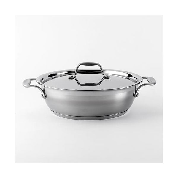 Dexam Supreme 26cm 3.75 Litre Stainless Steel Chefs Pan
