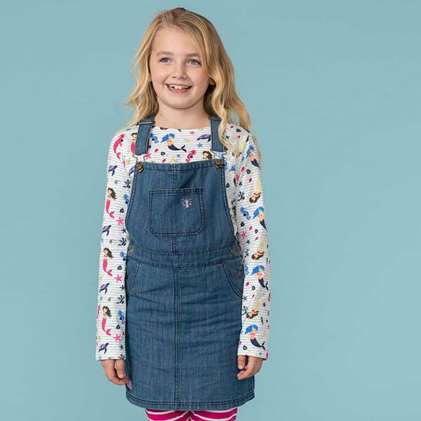 Lighthouse Washed Denim Maisie Pianfore Dress