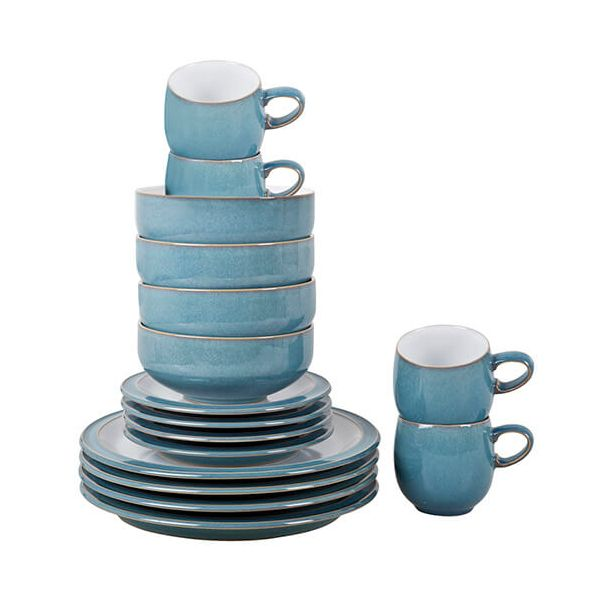 Denby Azure 16 Piece Set
