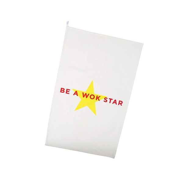 School Of Wok Be A Wok Star Tea Towel