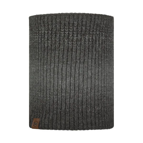 Buff Marin Graphite Knitted & Fleece Neckwarmer