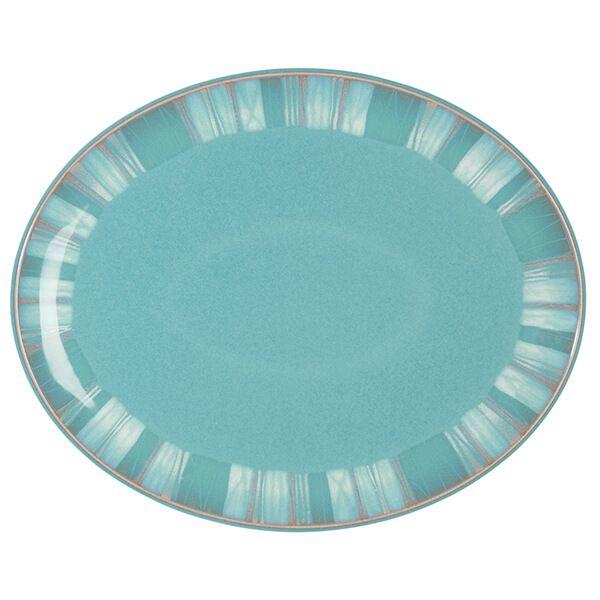 Denby Azure Coast Oval Platter
