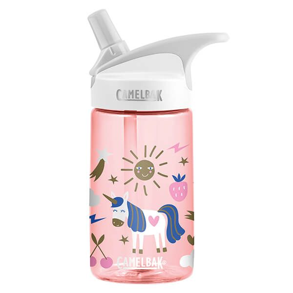 CamelBak 400ml Eddy Kids Unicorn Party Water Bottle