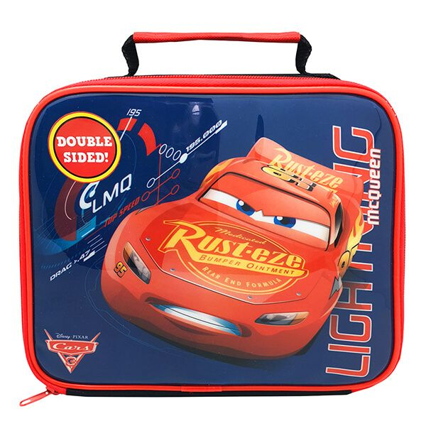 Disney Cars 3 Double Sided Lunch Bag