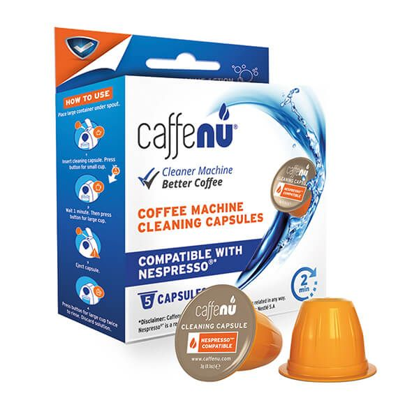 Caffenu Nespresso Machine Cleaning Capsules Pack Of 5