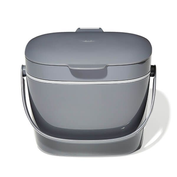 OXO Good Grips Easy-Clean Charcoal Compost Bin 6.62L
