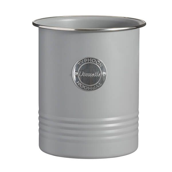 Typhoon Living Grey Utensil Jar