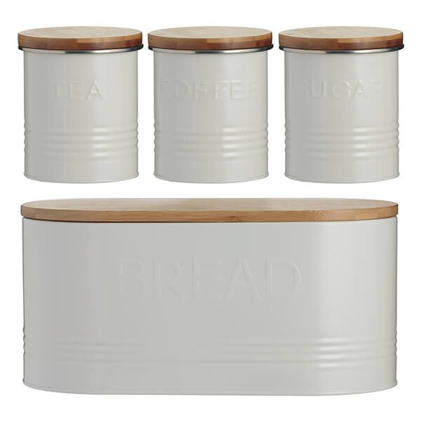 Typhoon 4 Piece Storage Set Cream