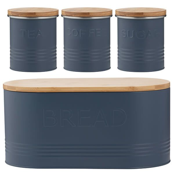 Typhoon 4 Piece Storage Set Blue