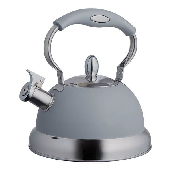 Typhoon Living Grey Stove Top Kettle 2.5L