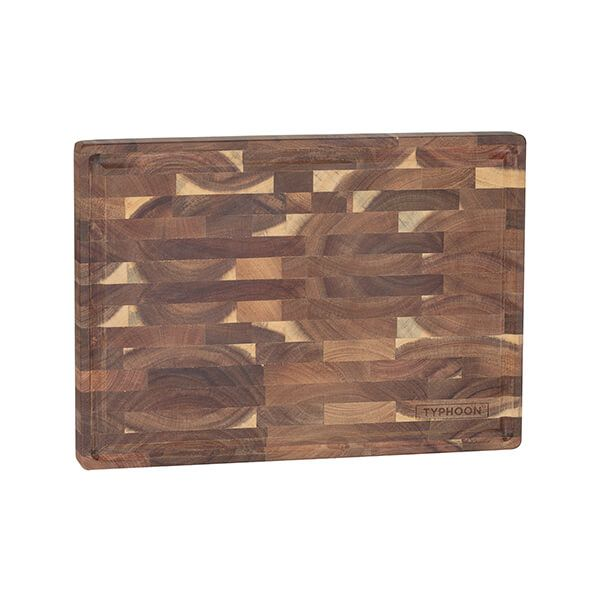 Typhoon World Foods End Grain Acacia Block 35x25cm