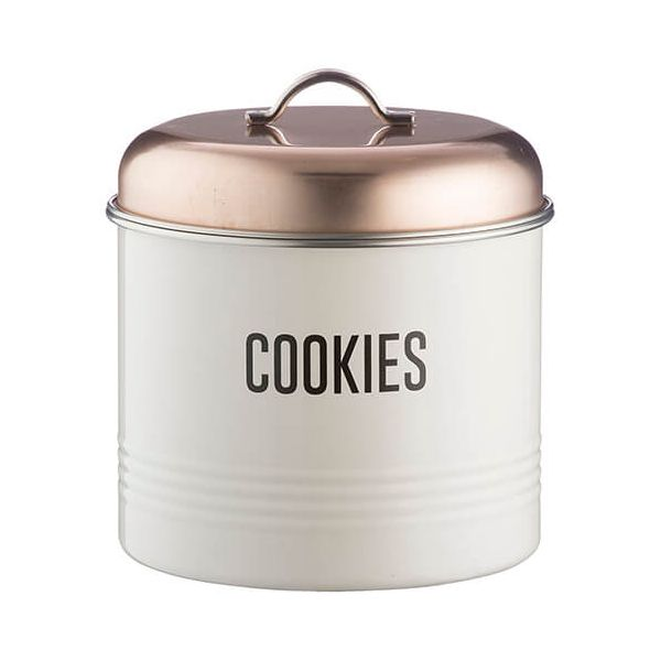 Typhoon Vintage Copper Cookie Tin