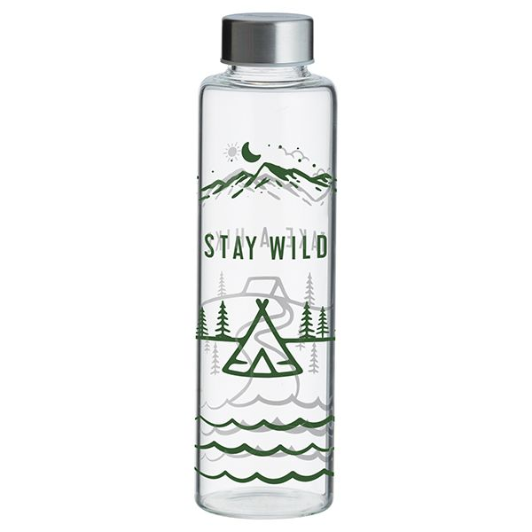 Typhoon Pure Stay Wild Glass Bottle 600ml